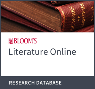 Blooms Literature Online Research Database Logo